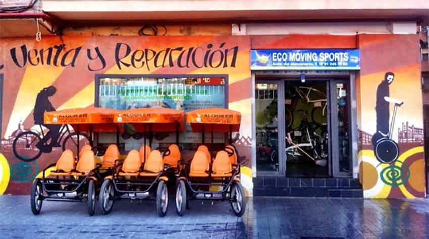 Eco Moving Sports. Avenida del Manzanares 2