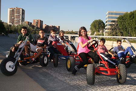 Tour Mix. Karts y Cuatriciclos + Segways